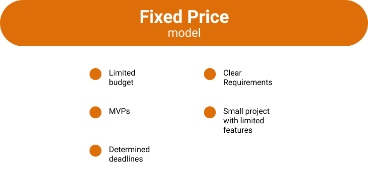 Fixed Price Outsourced development benefits