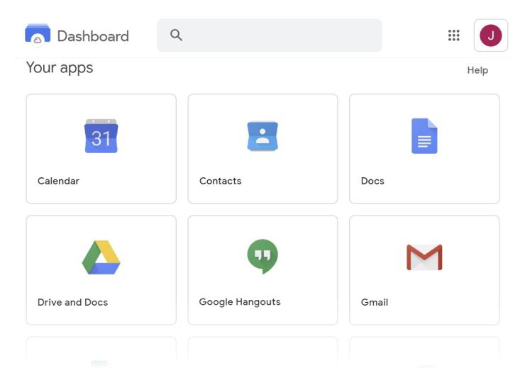 Google G Suite redesign