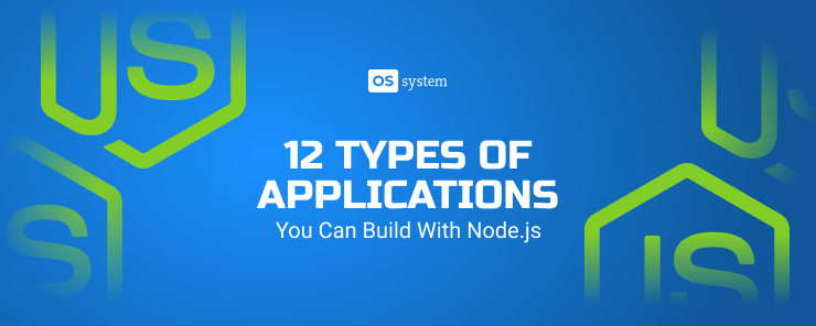 12 Types of Node.js Applications with Examples