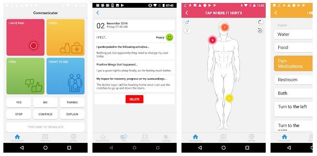 patient communication app