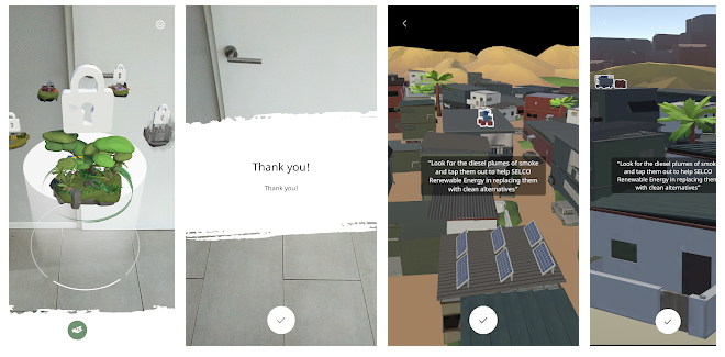 IKEA Foundation AR - app screenshots