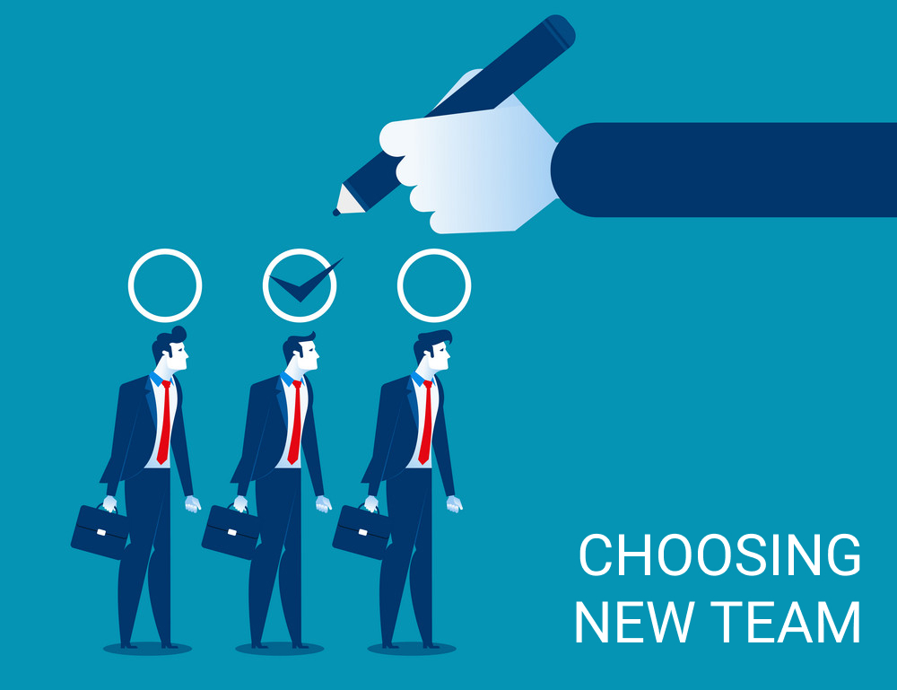 CHOOSING NEW TEAM